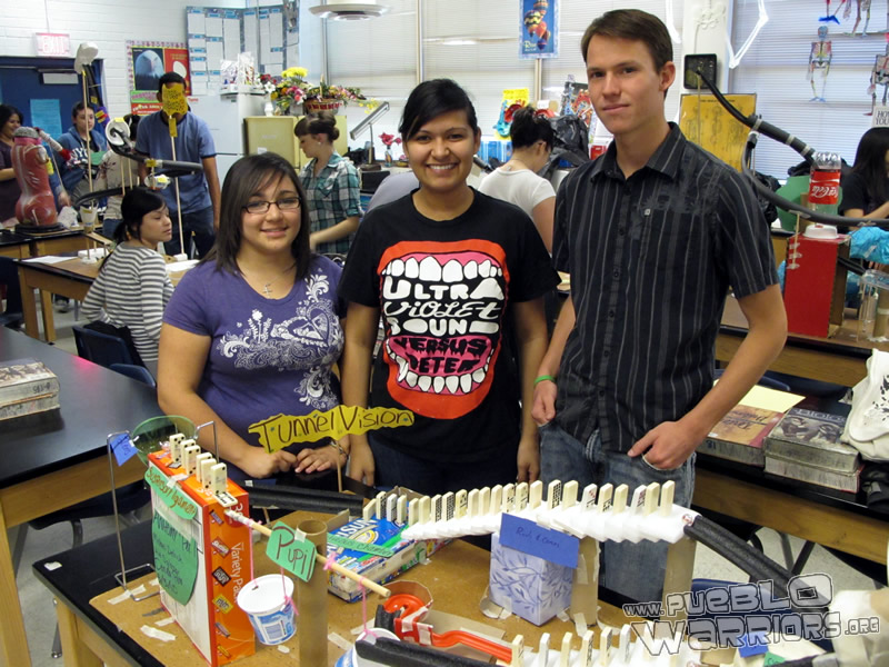 Anatomy Rube Goldberg Project 2010 – Pueblo High School