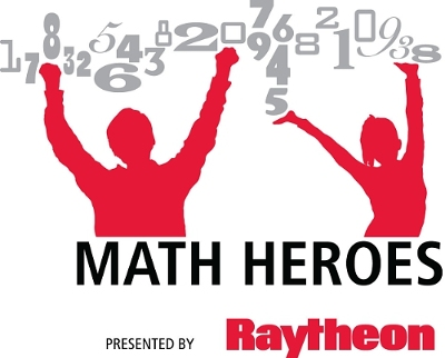 Math Heroes By Raytheon Logo