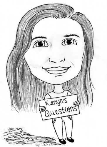 Pueblo El Guerrero Kenya's Questions Cartoon