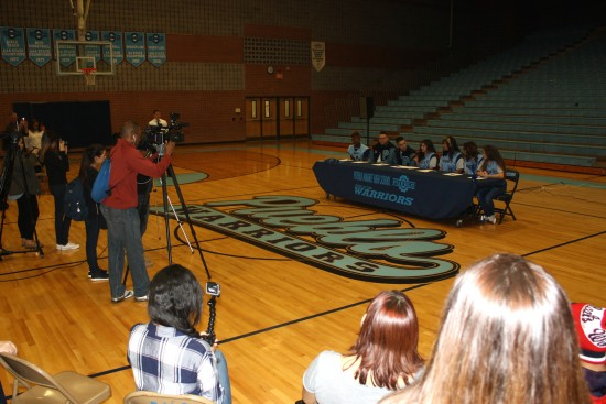 Pueblo Warriors Fall Signing Day 2016