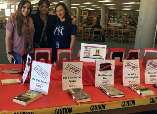 pueblo-banned-books-display-with-marsha-jean-burrola